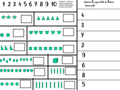 section math evaluations enumeration nursery school great section