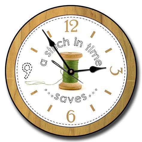 room of clocks sewing room clocks sewing machine wall clock tbcs