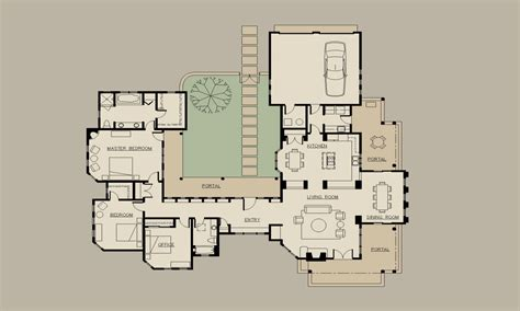 courtyard style house plans hacienda home plans hacienda style house plans with