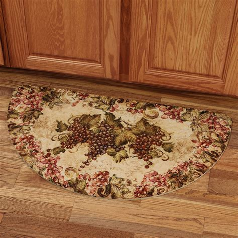 designer kitchen rugs grape design kitchen rugs conexaowebmix com