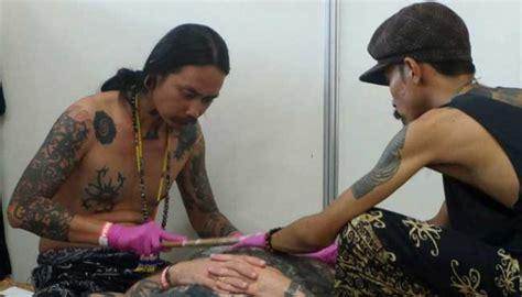 tattoo supply di bali bali tattoo expo 2017 teknik tato tradisional jadi