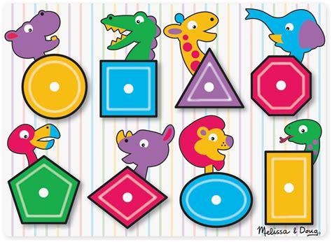 Doug Color Shapes Animals Peg Puzzle doug shape peg puzzle woodland toys