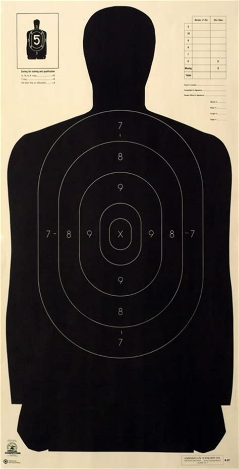 printable law enforcement shooting targets need to print these nra police silhouette target isu