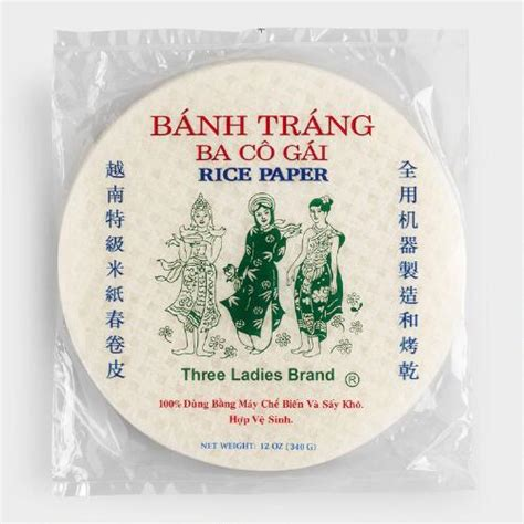 How To Make Rice Paper Wrappers - three roll rice paper wrappers 50 count