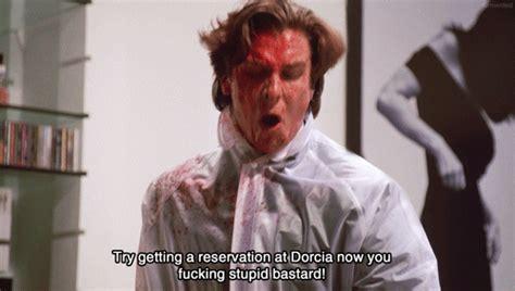 American Psycho Meme - murder american psycho christian bale patrick bateman 2000