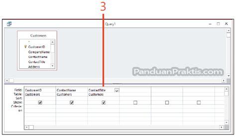 cara membuat query menggunakan wizard cara membuat tabel menggunakan query make table di access 2013