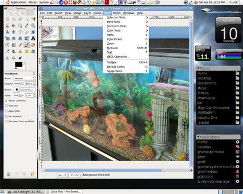 gimp tutorial image manipulation gimp is no lame photo tool software linuxinsider