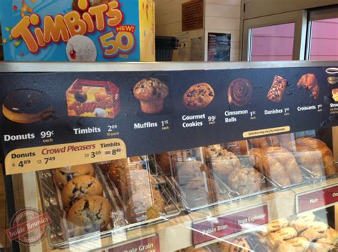 Tim Hortons raises its prices: A Timbit now costs $0.25 and a donut is a $1   Inside Timmies