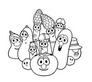 free larry boy veggie tales coloring pages
