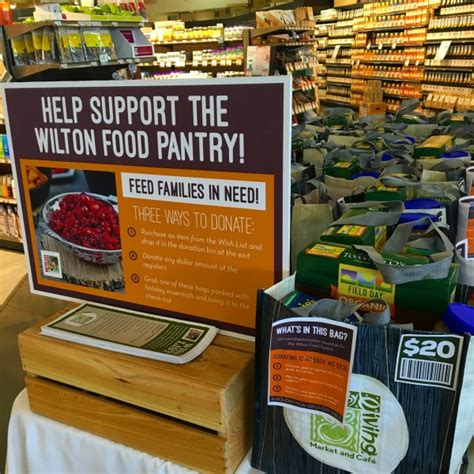 Wilton Food Pantry by Help The Wilton Food Pantry Healthy Living Market Caf 233