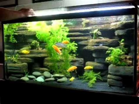 aquarium design homemade diy aquarium decoration ideas youtube
