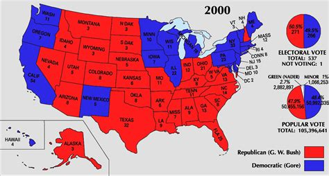 map us election results punishing the past presidential elections in times of