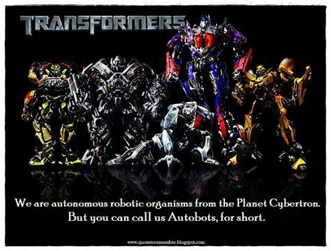 optimus prime quotes optimus prime quotes 2007 quotesgram