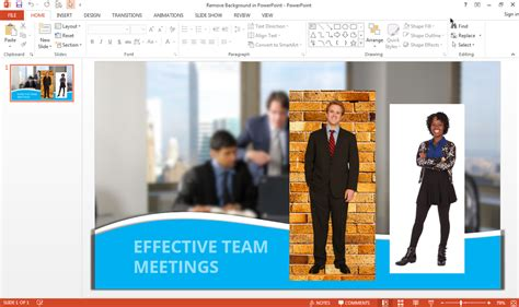 remove  background   image  powerpoint