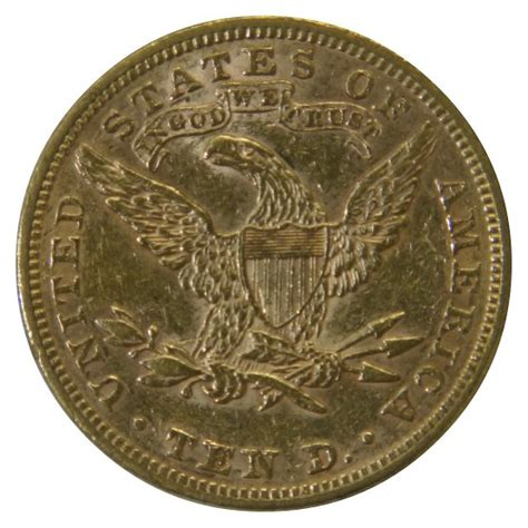 jual beli liberty ten dollar gold coin 1895 bekas
