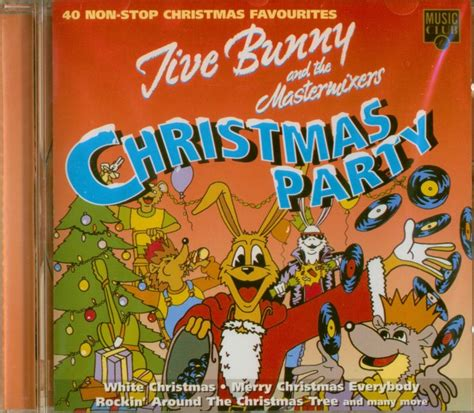 jive bunny the mastermixers cd christmas party cd