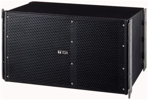 Speaker Toa Array toa sr a12lwp 2 way line array speaker system