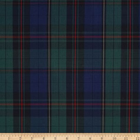 poly cotton plaid blue green 28 images polyester plaid