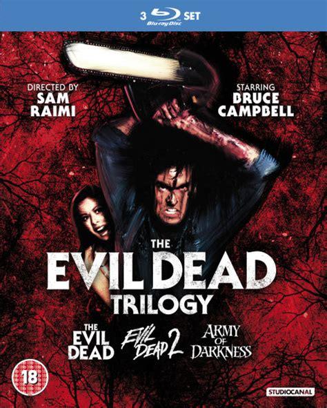 Download Film Evil Dead Bluray   evil dead trilogy blu ray zavvi com