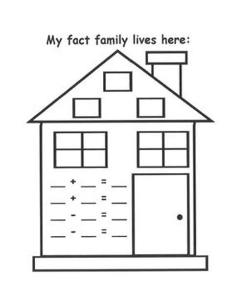 fact family house fact family house freebie by maria smith teachers pay teachers