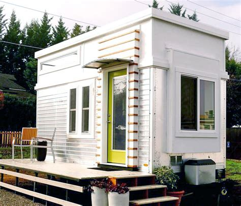 tiny house list on housekaboodle man transforms a salvaged trailer into an elegant tiny