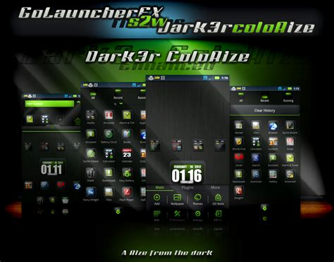 go launcher themes best s2w themes go launcher ex themes