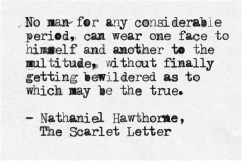 Scarlet Letter Introduction Quotes Typewritten