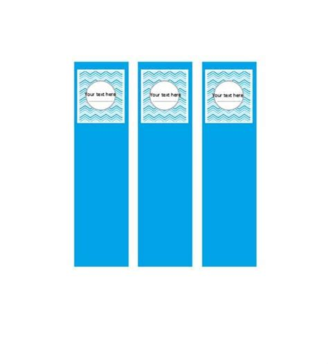40 binder spine label templates in word format template