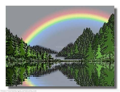 imagenes naturales de arcoiris arco iris m carmen burgos artelista com