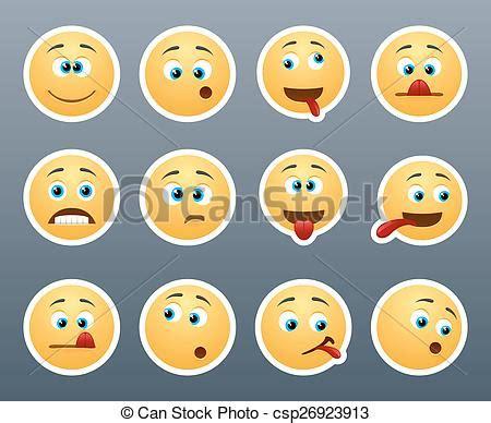 clipart divertenti clipart vettoriali di divertente emoticons smorfia