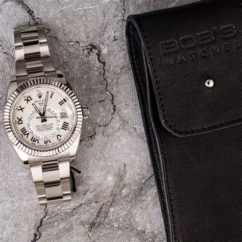 rolex sky dweller 326939 white gold oyster band