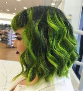 hairstyles done on a mannequin with green hair 20 ways to rock green hair