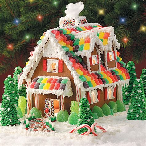 how to design a gingerbread house gingerbread christmas cottage recipe taste of home