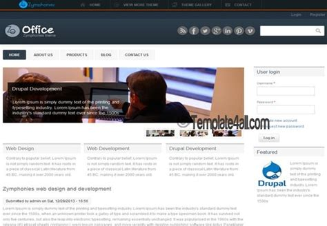 drupal themes responsive business responsive corporate drupal 7 theme download