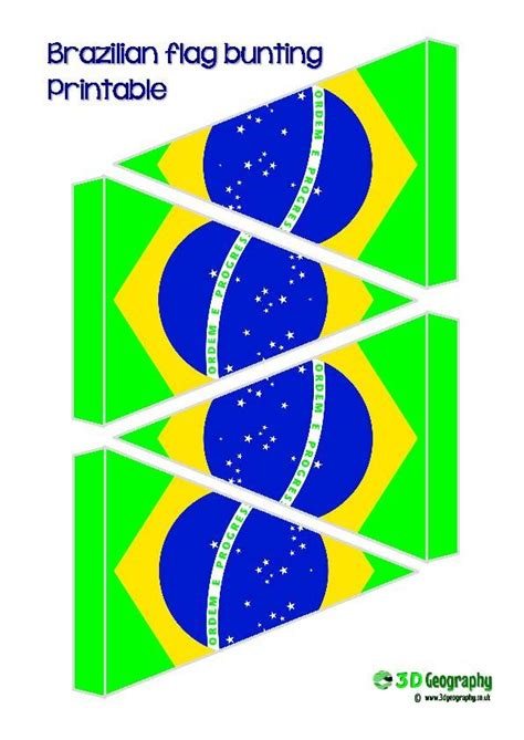 printable bunting flag great free printable flag bunting for brazil flags of