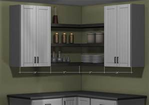wall of kitchen cabinets what s the right type of wall corner cabinet for my kitchen