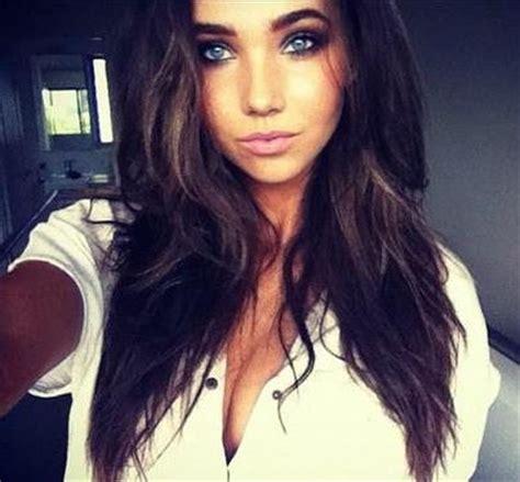 beautiful blue eyes brunette girl selfie profil de rencontre de nabila75latigresse lovelive