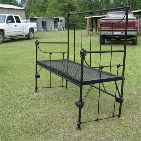 Repurposed Bed Heads And Beds On Pinterest Goodwill Bed Frame
