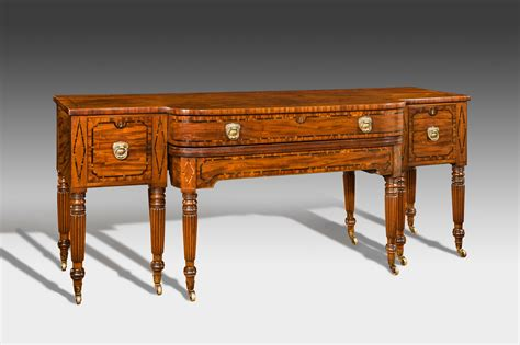 Dining Table Sideboard Antique Regency Sideboard With Extending Dining Table Summers Davis Antiques Interiors