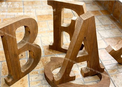 Decorative Letters For Home Free Standing by Online Get Cheap Large Wood Letters Aliexpress Com