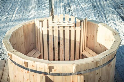 wood fired hot tub wooden hot tub royal tubs uk