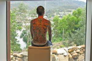 human canvas tattoo human canvas tim jpg abc news australian