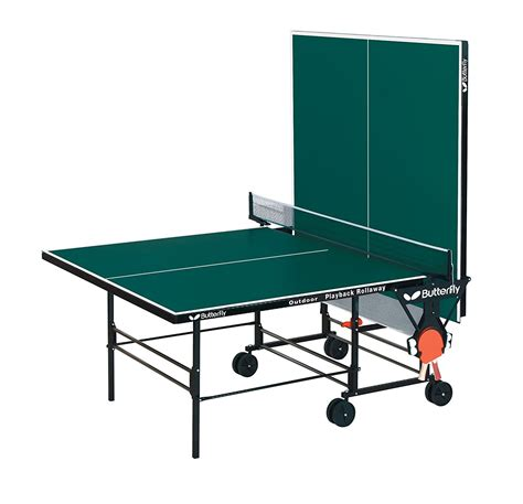 outside ping pong table butterfly outdoor playback rollaway best outdoor ping