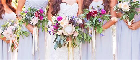 48 bohemian wedding bouquets that are totally chic wedding forward