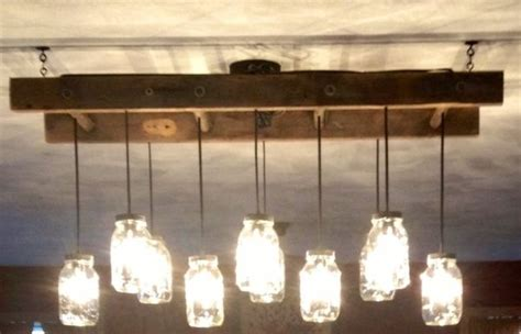 jar light fixture with ladder jar light