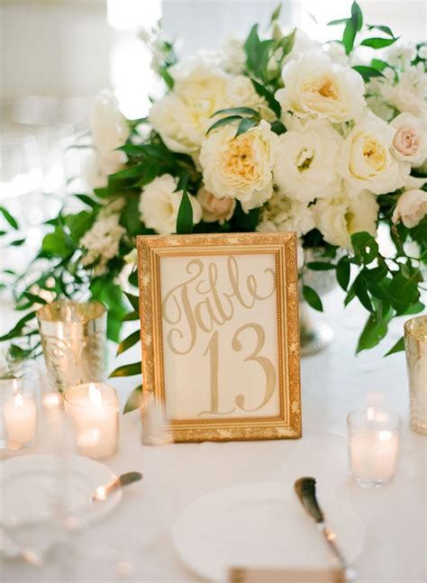 wedding table number ideas table numbers rosa s catering