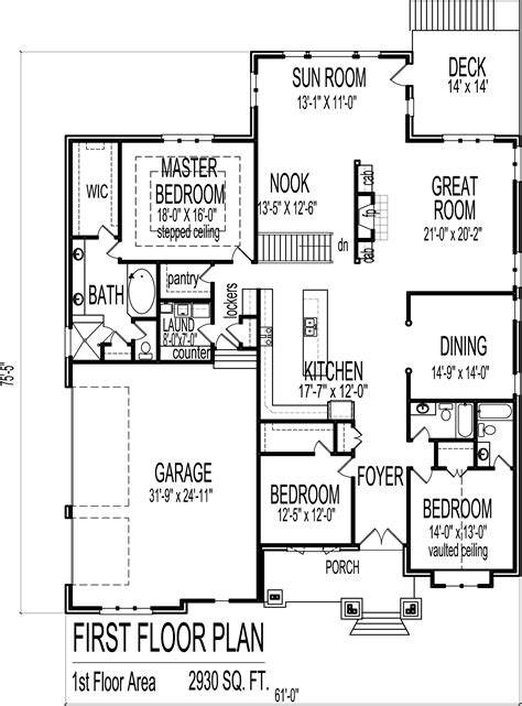 3 bed bungalow floor plans 3 bedroom bungalow house floor plans designs single story