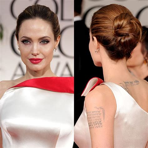 10 Best Hairstyles From The Golden Globes by The Best Hairstyles On The Golden Globes Carpet