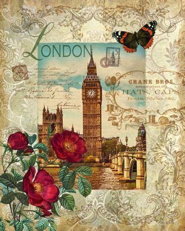 imagenes vintage londres m 225 s de 1000 ideas sobre pintura de torre eiffel en