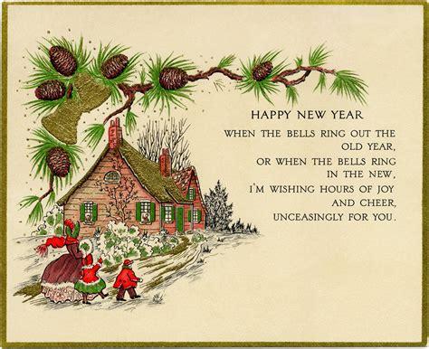 printable vintage greeting cards vintage new year greeting card old design shop blog